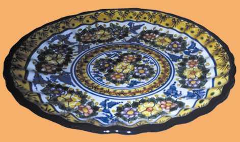 Platos decorativos modernos cocina de diseo moderno reloj - Platos decorativos modernos ...