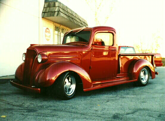 A 1937 chevy truck