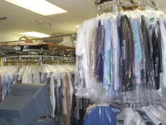Dry cleaning store; Size=240 pixels wide