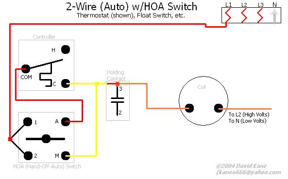 Hoa Wiring Diagram : Motor connections