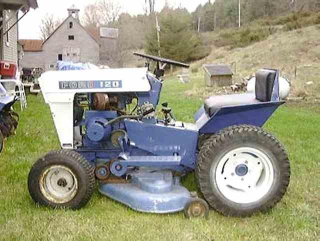 lawn garden tractors photo ford p2