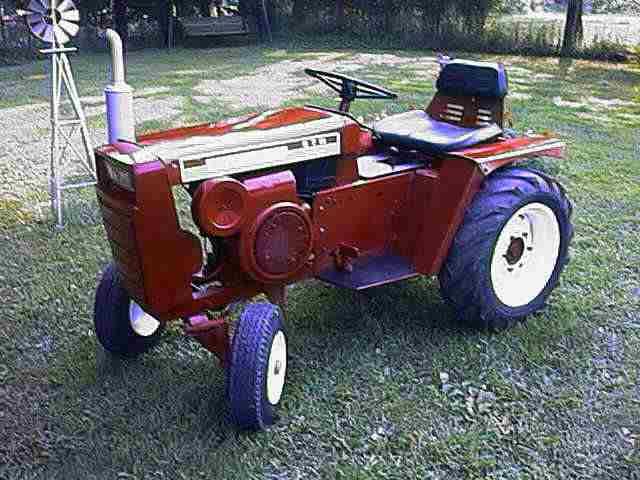 Wheel Horse Gt14 : Lawn garden tractors photo wheelhorse