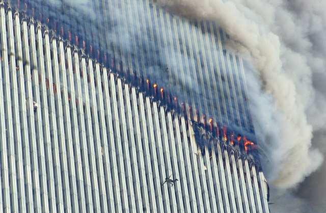 9 11 Falling Bodies World trade center falling