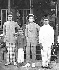 A old malay family