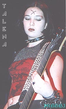 Former Bassist Talena Info And Pics