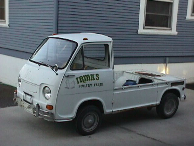 This is Irma, my 1970 Subaru 360 pickup. I've owned her for just over a year
