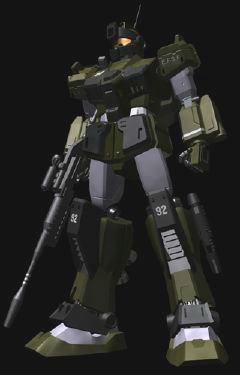 EFF Mobile Suits of the One Year War ~ RGM-79SC GM Sniper Custom