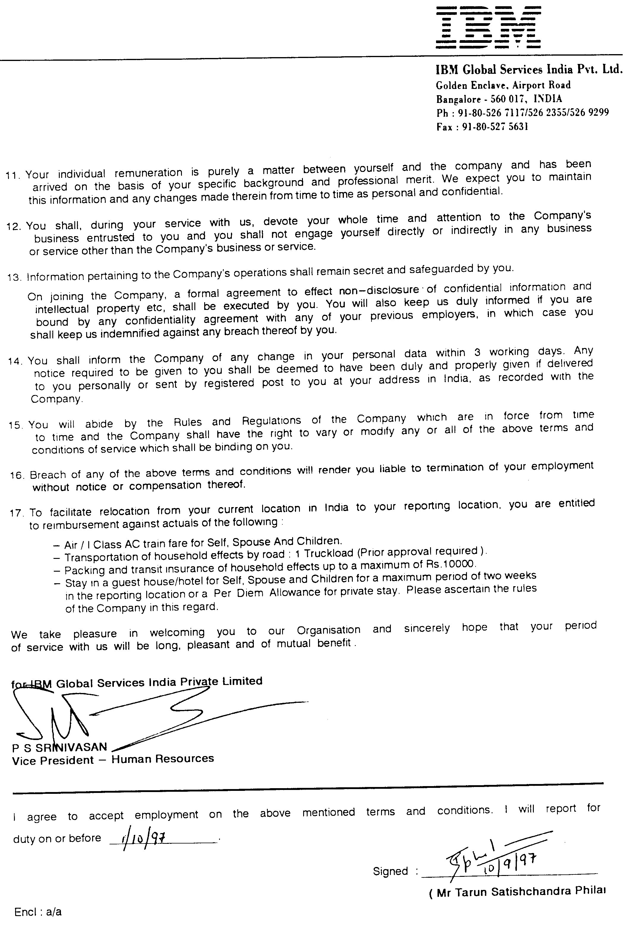 Reliance Offer Letter  MaggiLocustdesignCo