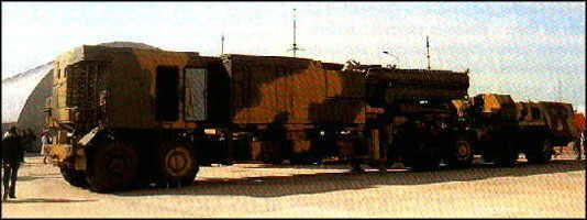 Modernizovaný protilietadlový raketový systém s-300pmu1