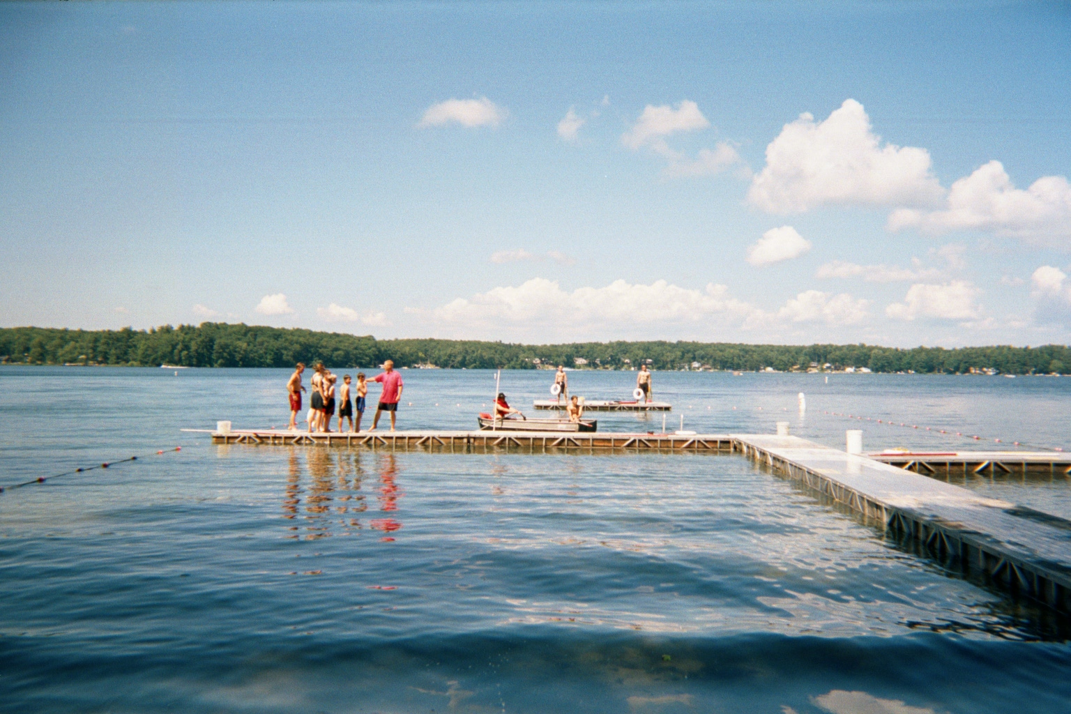 Camp Blackhawk Waterfront On Big Blue Lake