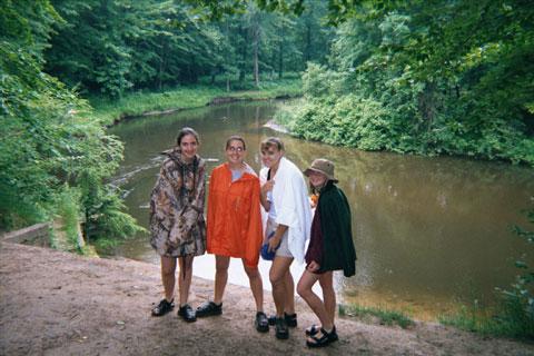 Canoeing Buddies