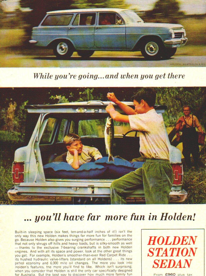 EH Holden Advertisements