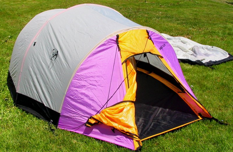 Outer shell and foot print without the inner tent & Our Products
