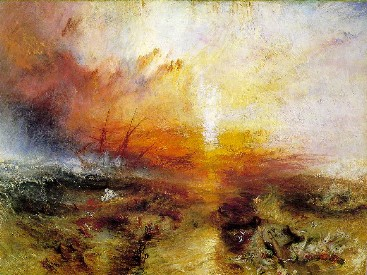 """""""Slaveship (the Typhoon comes)"""" by William Turner"""