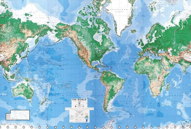 Australia Map Of World.World Map Travel Road Street Australia World City Hiking World Wall