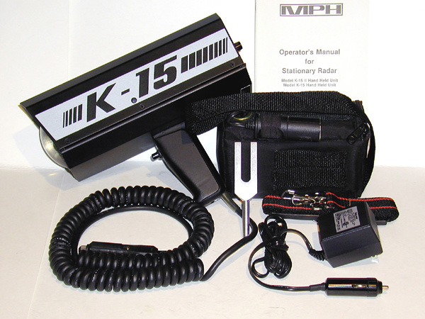 MPH K15-II K-Band Radar Gun