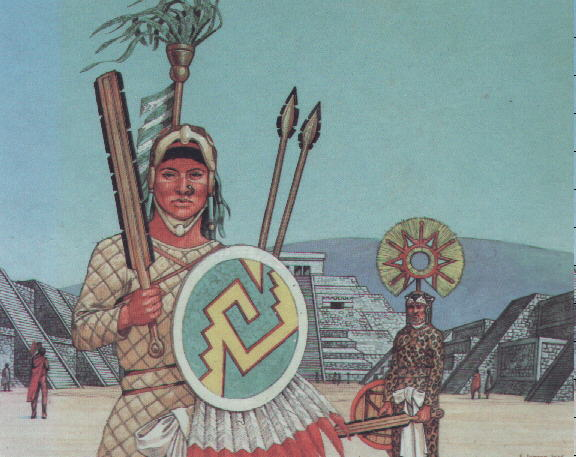 how were the aztec army aztec The aztecs had no professional army, they did have professional military officers when a new born baby was born (boy) they were cut off his umbilical cord, then dried it and buried it on a battlefield to say that child will be dedicated to warfare the aztecs did not know how to treat it.