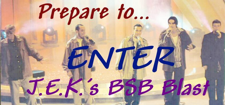 CLICK HERE NOW TO ENTER Jess, Erin, and Kimmie's Backstreet Boys Blast!