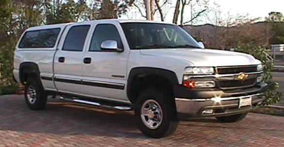 Bud's truck