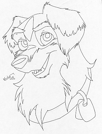 Australian Shepherd Coloring Pages Shepherd Coloring Page Free ...   439x334