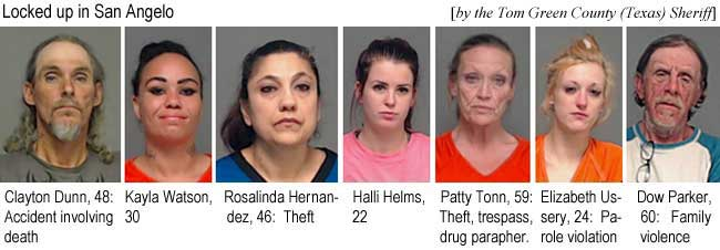 claytdow.jpg Locked up in San Angelo (by the Tom