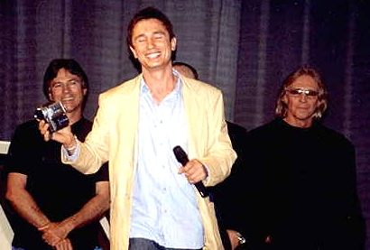 Judson at the Trek Con in Germany, 2002