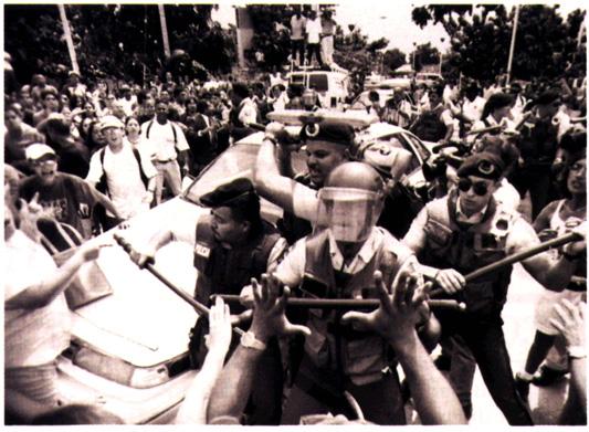Abuso: Violentaron los Acuerdos de No confrontación.