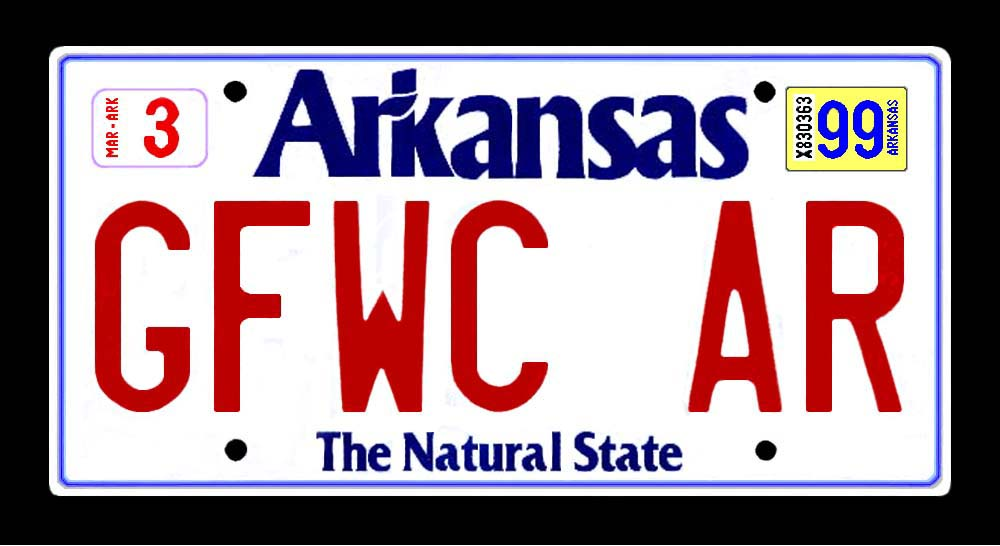 Download arkansas license plate history free backupport for Arkansas game and fish license