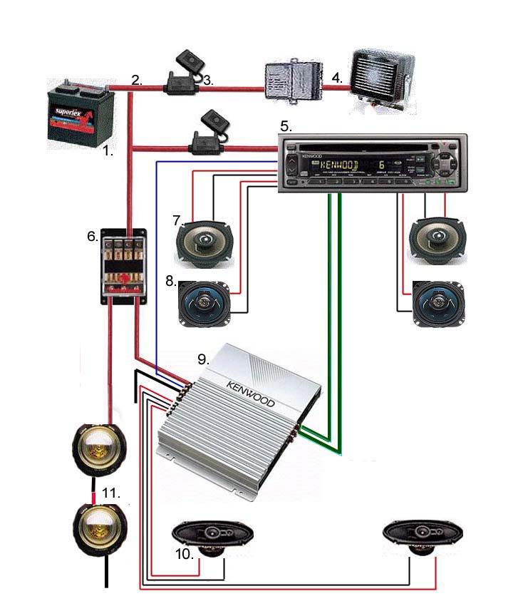 Car Stereo Speaker Wiring Diagram from members.tripod.com