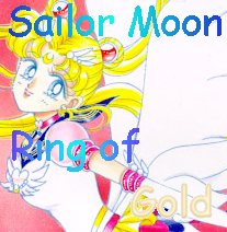 Sailor Moon Ring of Gold Homepage