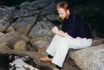 The Composer in the Woods of New Hampshire