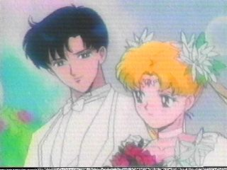 sailor moon and tuxedo mask wedding episode  Sailor Moon And Tuxedo