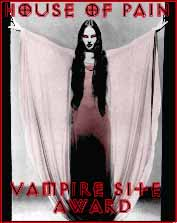 House of Pain Vampire Award
