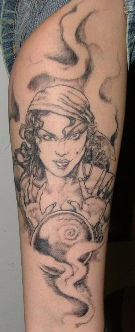 Judy is a sweet lady, if you have the chance to get tattooed by her,
