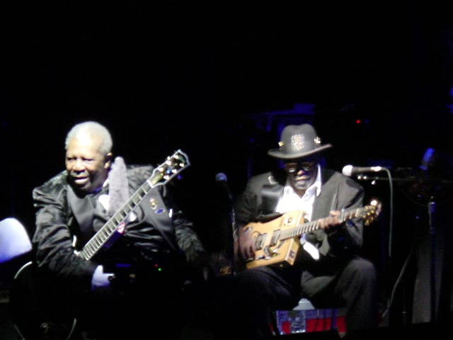 {Bo Diddley and BB King}