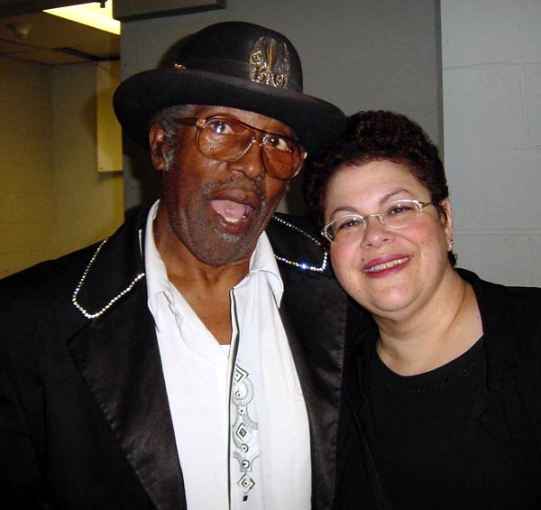{Bo Diddley and Phoebe Snow}