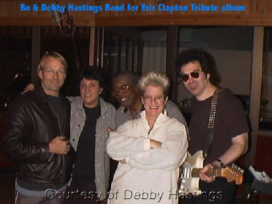 {Bo Diddley and The Debby Hastings Band}