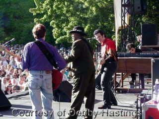 {Bo Diddley and band}