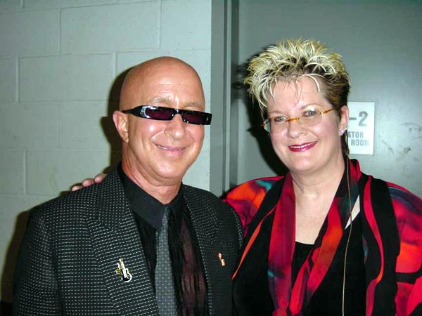 {Paul Shaffer and Debby Hastings}