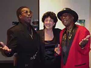 {Wilson Pickett, Margo Lewis & Bo, 2000}
