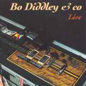 {Bo Diddley CD cover featuring the Mean Machine guitar}