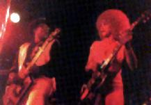 {Bo Diddley and Lady Bo in concert}
