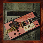 {Bo Diddley's pink guitar}