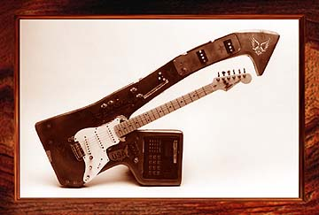 {Bo Diddley's Fender Stratocaster guitar}