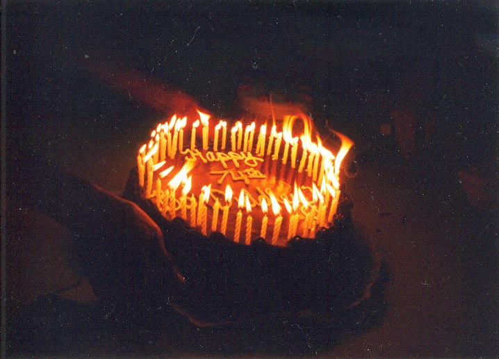 {Birthday cake}