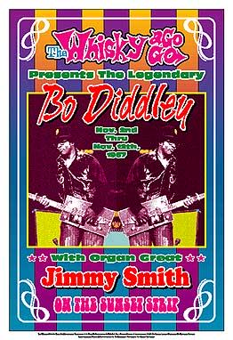{Bo Diddley concert poster}