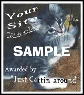 Your Site Rocks award sample
