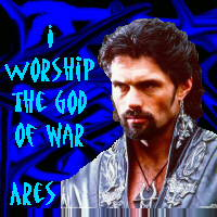 I worship Ares