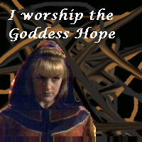 I worship Hope