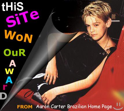 .:Aaron Carter [Brazil]:.